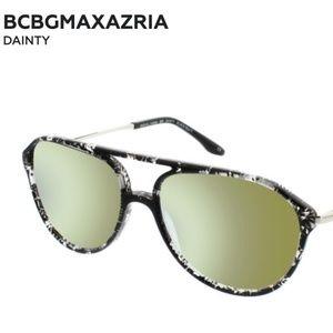 BCBGMAXAZRIA Dainty Sunglasses in Black Multi
